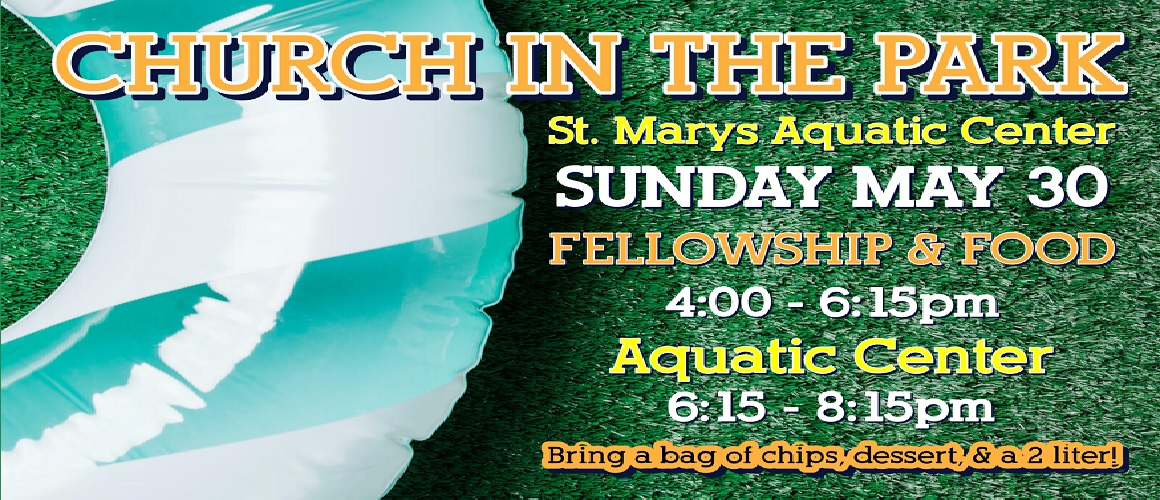Church in the Park - May 30th